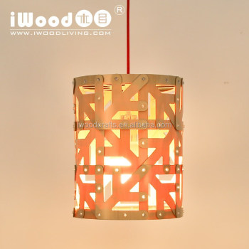 factory supply E27 wood ceiling lamp in ceiling light