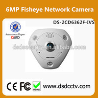 Hikvision 6 megapixel Camera DS-2CD6362F-IVS support 360 degree view angle cctv camera