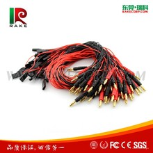 Rake JR Female Plug to 4mm Male Banana Plug Connector RC Battery Charge Conversion Cable