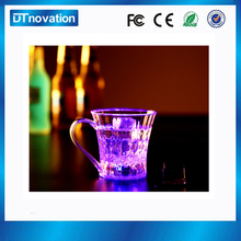 Hot sell glow up flashing rocks glass/led light cup made in China