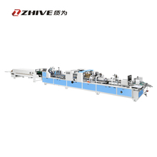 ZWHH-780PC Automatic high speed folder gluer / glue machine / automatic gluing machine