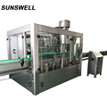 Sunswell glass carbonated soft drink filling line