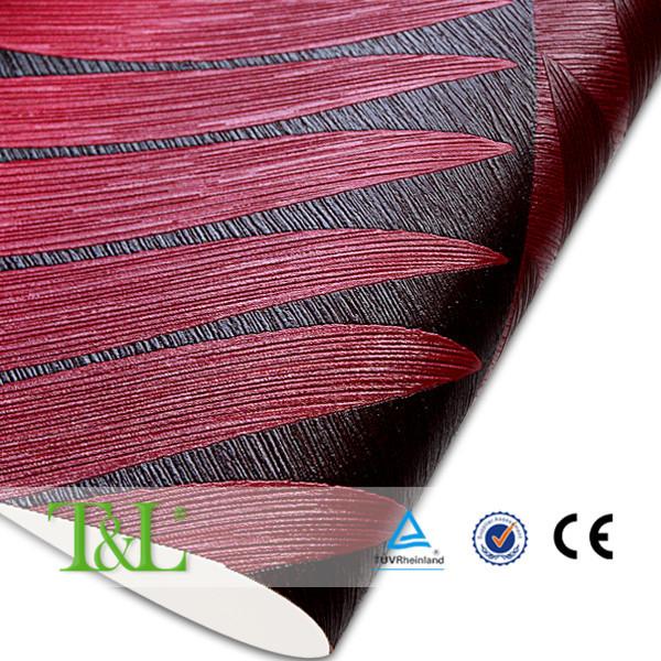 저렴한 가격 PVC 벽지 디자인, 벽 종이 공장 제품에 최신 발행 ...