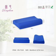 Best Price 100% Polyester material deluxe cool gel memory foam pillow wholesale online