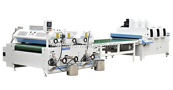 High quality exquisite UV Coating Line powder coater metal coater