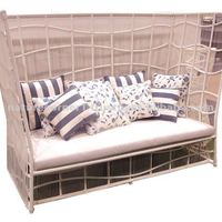 Modern Wicker Rattan Outdoor Living Sofa