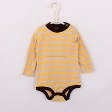 BSCI garment supplier knitted infant baby cotton summer creeper