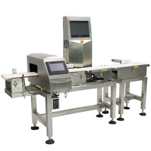VC-M3 Three-grade check weigher machine conveyor belt system with metal detector