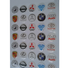 Full colour solvent printing UV resistant and outdoor durable Custom clear epoxy resin sticker