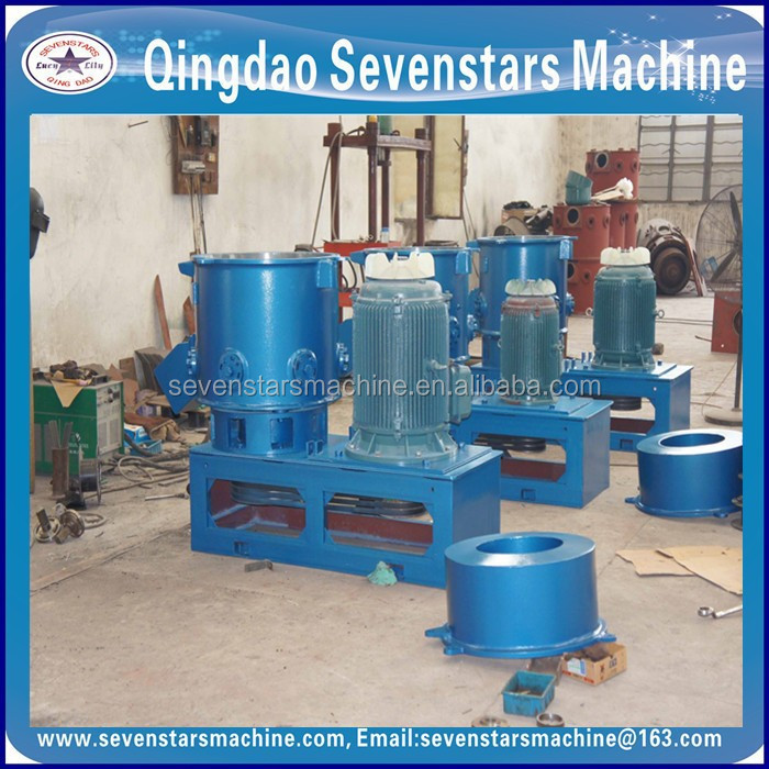 plastic agglomeration machine aggregate