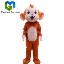 Animal life size walking adult monkey mascot costumes EVA plush animal mascot costumes for adult