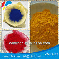 Pigment Yellow 191 (Yellow H4G) color pigments chemical formula for acrylic plastic
