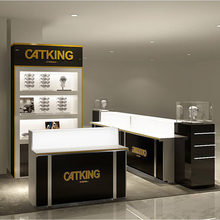 Professional Retail Mall Sunglasses Kiosk Design