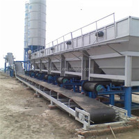 WCB500 Mobile Cement Stabilized Soil Mixing Station for Cement
