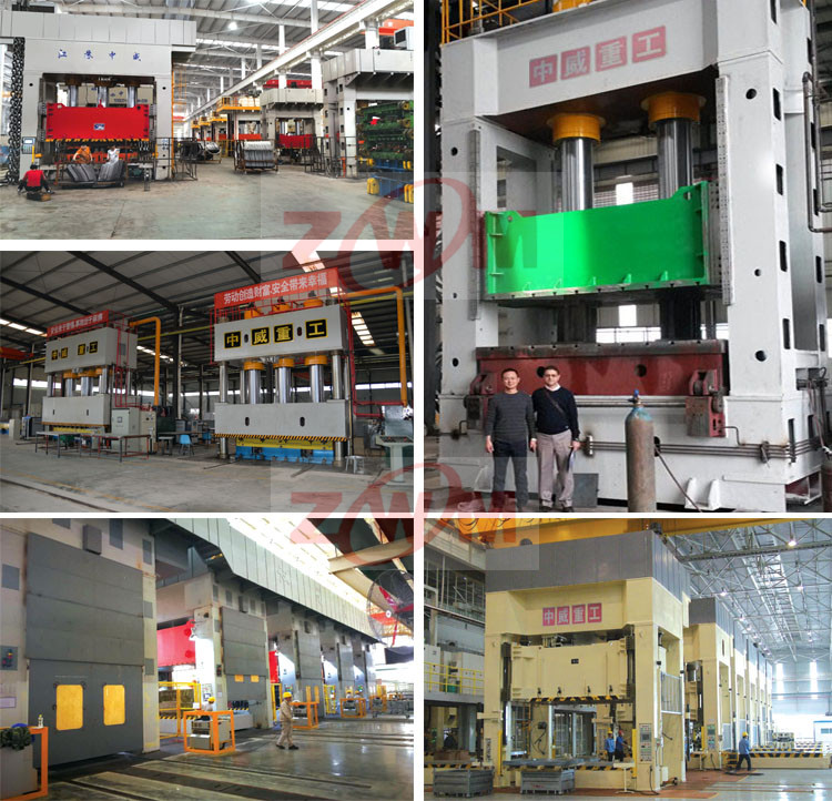 47 years reliable brand H frame hydraulic press machine