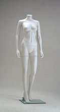 Food grade material flexible realistic female manikin with out head