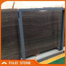 Brown wooden grain eramosa marble slab sizes price