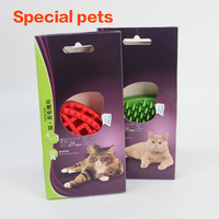 Cat comb pet supplies, cat hair removal comb.silicone pet/dog/cat comb for wholesale