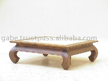 Table basse opium carr de bambou top table basse id de produit 202378080 fre - Table basse opium carre ...