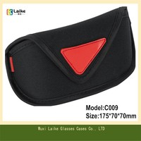 High Quality Hot Sale Protective Microfiber Sunglasses Case Soft Eyewear Cases