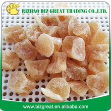 Crystallized Dried Ginger Chunk with best price for sale