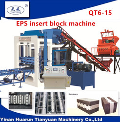Tianyuan machinery hollow block machine recycling factory OEM