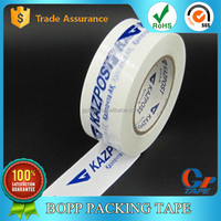 Custom English Logo Printed Colored Adhesive Tape For Sealing and Packing