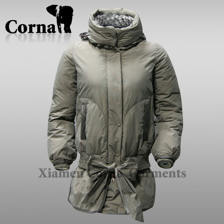 Outdoor winter duck/goose/cotton puffer lady down jackets