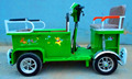 electric cargo quadricycles for coffee/ice cream deliver/kids seats with safety belt 4100004