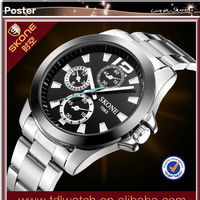 2015 Skone Men Watch Steel Sport Watch Paypal
