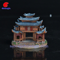 High Quality Polyresin 3D Building Model Kits House Model Souvenir