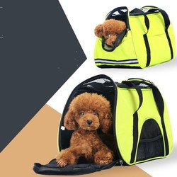 R0959H Wholesale soft-side portable dog crate foldable pet carrier