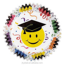 School type smile paper baking cup