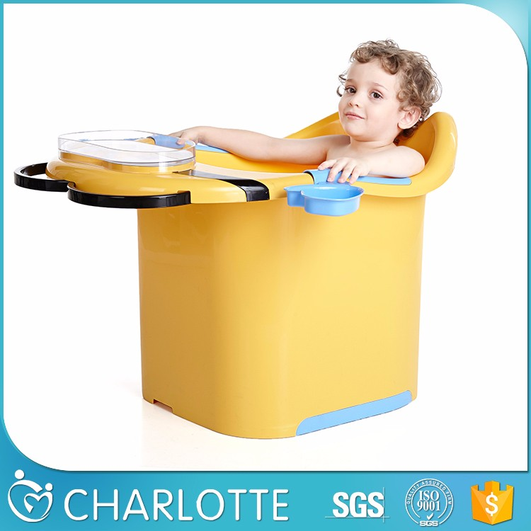 Attractive price new type plastic kids bath tub baby product