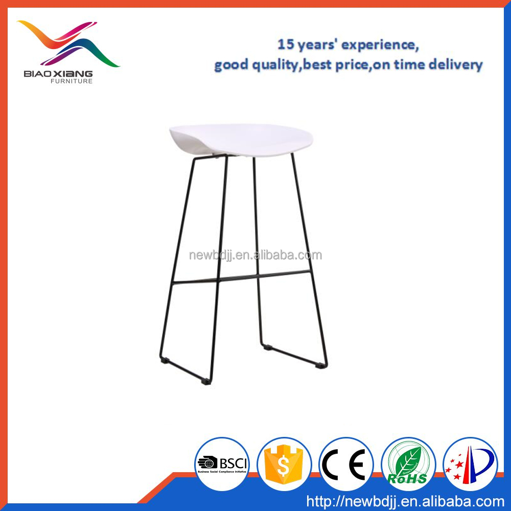 Famous Modern Replica Bar Stool Plastic Stool