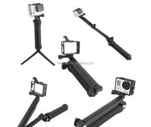 Wholesale Action Camera Accessories 3-Way Adjustable Bracket Hand Grip tripod