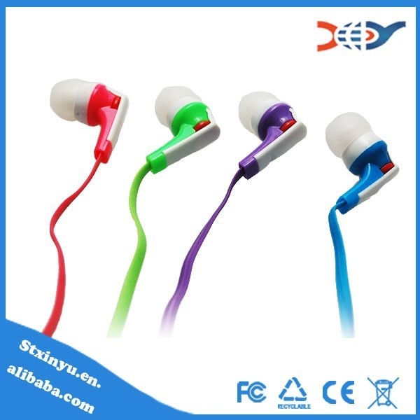 High quality new duck earphones with silicon ear muff with comfortable ear tips wholesales