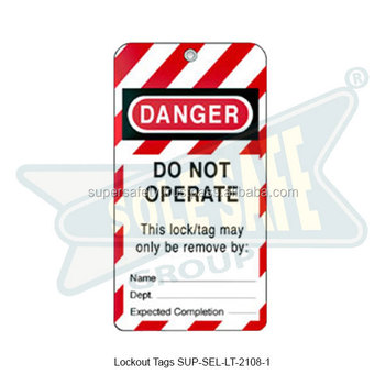 Lockout Tags ( SUP-SEL-LT-2108-1 )
