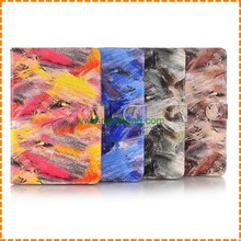 Super graffiti Printing magnetic leather case for iPad Mini 4