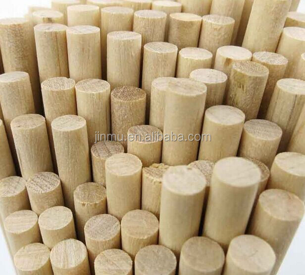 wholesale FSC certified wooden dowel rods from chinese factory