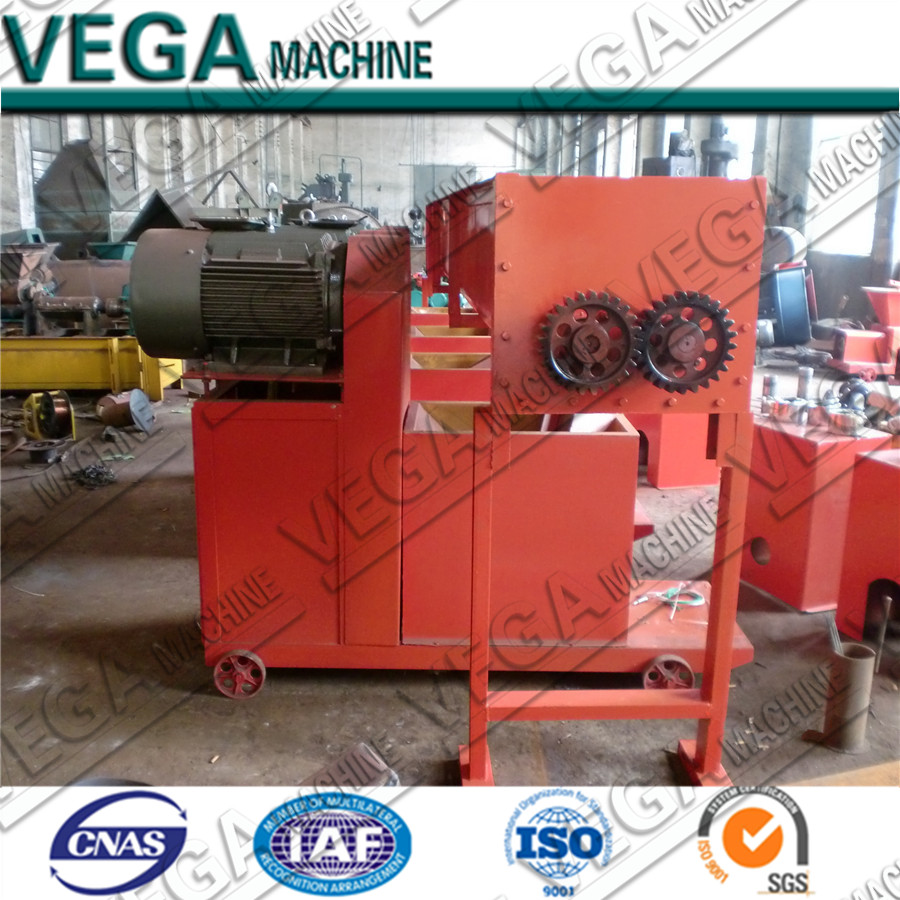 With CE ISO rice husk charcoal peanut shell briquette manufacturing machine