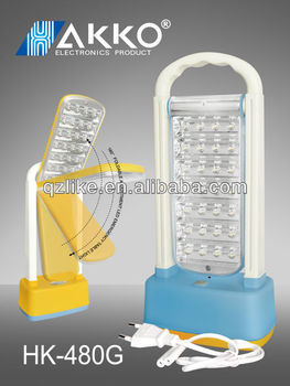 Folding Table Lamp Used for Study, Emergency or others