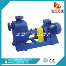 leather industry wastewater treatment water pump with motor