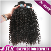 Hot Selling Remy Tangle Free Human Kinky Hair Weft For Braids