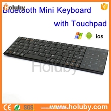 2015 hot selling Bluetooth mini wireless Keyboards with Touchpad for Tablet PC