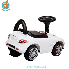 WDDMD258 Plastic Baby Push Toy Car Good Quality Baby Stroller Car Taxi With Music