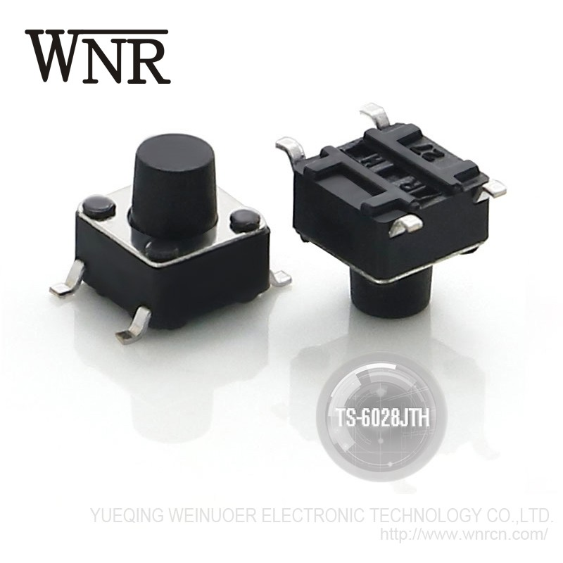 WNRE SMD Tact Switch/Tactile Switch push button switch TS-6028JTH 6*6 4pin