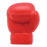 PU promotional stress ball boxing glove advertising item foam ball