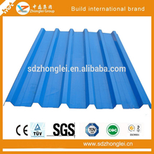 2016 China Supply Galvanized Corrugated Sheet Metal with Many Colors