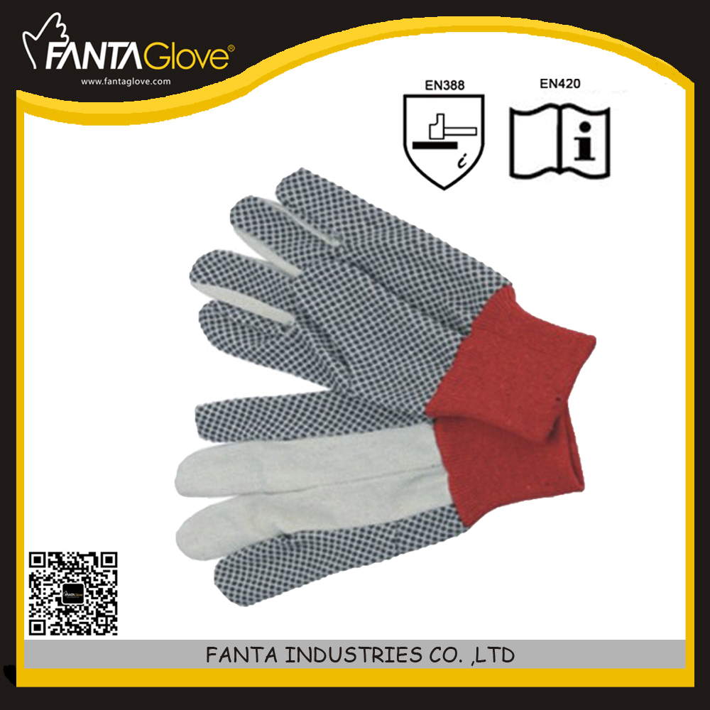 China manufacturer lady white cotton gloves
